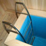 Лестница в купель