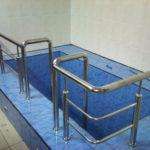 Ограждение бассейна из нержавеющей стали