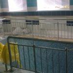 Ограждение бассейна из нержавейки