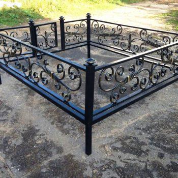 1. Кованые ограды