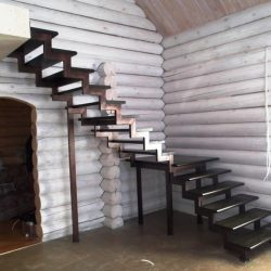1. Лестница на второй этаж
