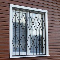 1. Металлические решетки на окна