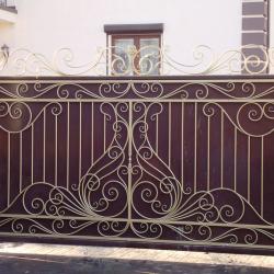 2. Откатные ворота